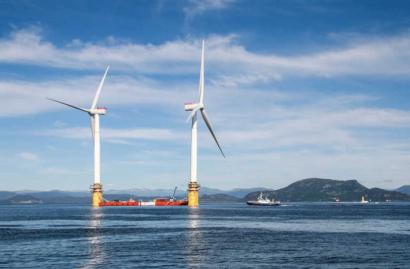 Canarias se prepara para albergar en 2025 el mayor campo eólico flotante del mundo