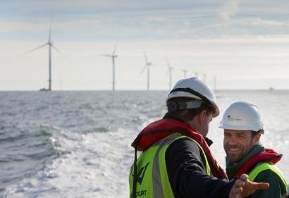 ScottishPower Renewables y Dong inauguran en aguas británicas el parque eólico de West of Duddon Sands