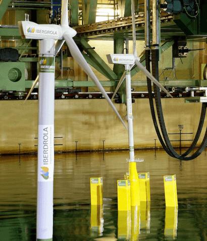 Iberdrola quiere instalar eólica en aguas profundas de Reino Unido