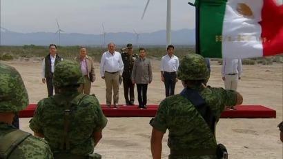 MÉXICO: Inauguran el parque Eólica de Coahuila, de casi 200 MW de capacidad, el más grande del país