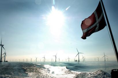 El gobierno danés va a construir una gran isla eólica artificial en pleno Mar del Norte