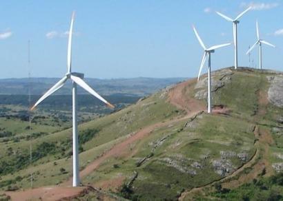 Uruguay será líder mundial en penetración de electricidad eólica en 2016