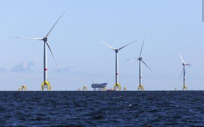 Iberdrola recibe el visto bueno para la construcción de su mega parque marino en Reino Unido