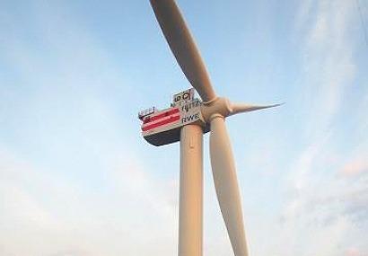Senvion instala los primeros aerogeneradores del parque marino Nordsee Ost