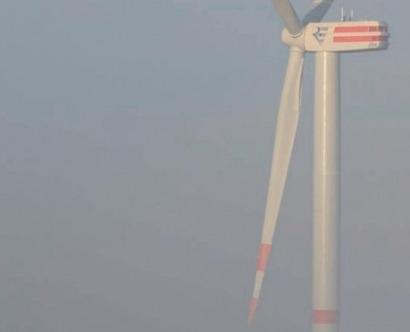 54 aerogeneradores de seis megavatios a 40 kilómetros de la costa