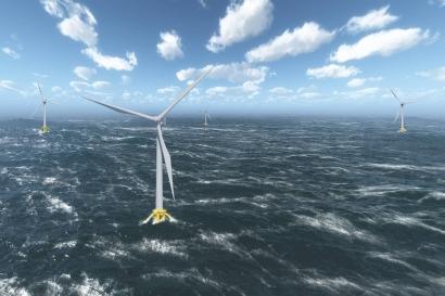La agencia francesa de la energía adjudica a EDF la puesta en marcha de un parque marino flotante
