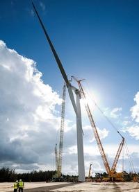 Un solo aerogenerador para abastecer a 6.000 hogares