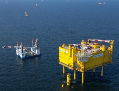 La tecnología HVDC de Siemens permitirá la evacuación de 900 MW eólicos en el mar del Norte