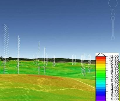 Iberdrola ya aplica la súper computación al diseño de parques eólicos
