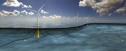 Navantia fabrica ya las plataformas flotantes del parque eólico marino Hywind