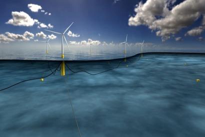 El primer parque eólico marino flotante del mundo estará en Escocia