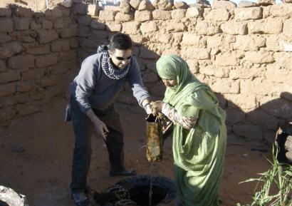 Agua para el pueblo saharaui gracias a la minieólica
