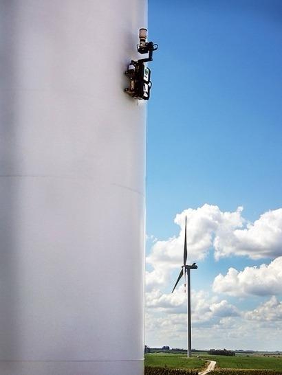 TSR Wind inspecciona 178 aerogeneradores en Uruguay