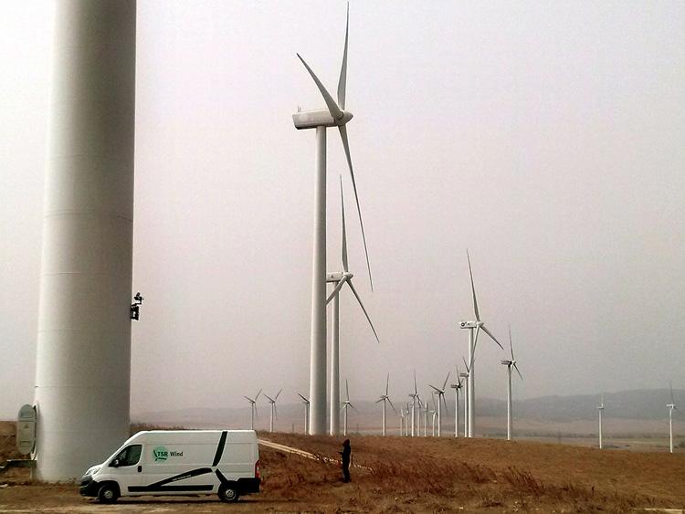 TSR Wind en Tarifa (Cádiz)