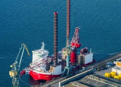 La eólica marina también crea empleo en los astilleros
