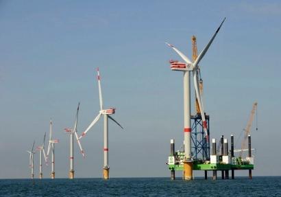 REpower completa la instalación de 325 MW eólicos en aguas belgas
