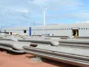 Acciona crea 400 empleos en una fábrica de torres para aerogeneradores en Brasil