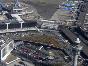 La eólica crece en Holanda para suministrar el 100% de le energía de los mayores aeropuertos del país