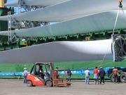 Loma Blanca ya genera sus primeros megavatios eólicos