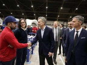 Córdoba: Inauguran una línea de montaje de aerogeneradores de Nordex Group en la Fábrica Argentina de Aviones