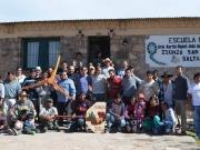 Salta: Docentes y alumnos instalan aerogenerador en una escuela rural