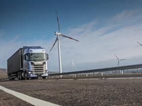 La fabricante de camiones Scania anuncia que se provee de electricidad proveniente de energía eólica