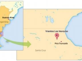 Entra en operaciones el parque eólico Vientos Los Hércules, de 97,2 MW