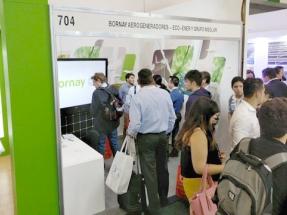 Los miniaerogeneradores de Bornay cautivan en The Green Expo 2018