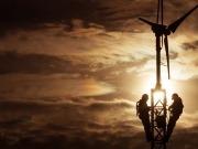 La eólica supera los quinientos teravatios hora de electricidad
