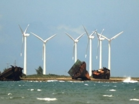 Un crédito de India para una central eléctrica a biomasa y una planta eólica de 50 MW