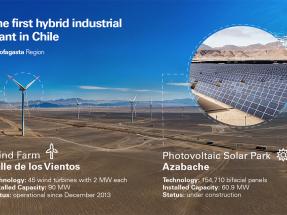 Con el parque solar Azabache, Enel Green Power completará la primera planta industrial híbrida eólica-fotovoltaica del país