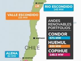 Mainstream Renewable Power obtiene financiación para el parque eólico Camán, de 148,5 MW