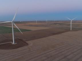 El parque eólico Cimarron Bend, de 599 MW, suministra energía al laboratorio Boehringer Ingelheim