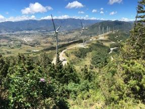 El parque eólico Villonaco alcanza nuevos niveles máximos de generación eléctrica