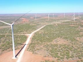 Texas: El parque eólico Amadeus Wind, de 250 MW, entra en operaciones y logra el cierre financiero