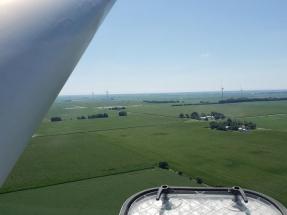 Illinois: comienza a operar el parque eólico Harvest Ridge, de 200 MW