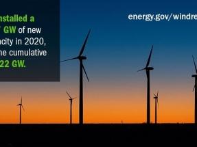 2020, el año en el que EEUU pulverizó su récord de potencia eólica instalada