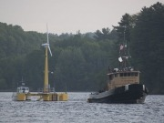 Presentan el primer prototipo de una turbina flotante