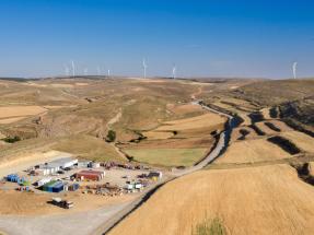Enel conecta Sierra Costera I, el mayor parque eólico que se construye en Aragón