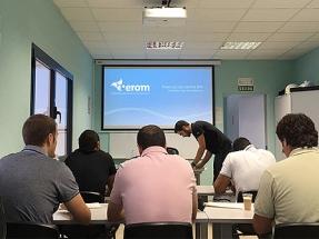 EROM toma la delantera al homologar su formación técnica bajo el estándar GWO