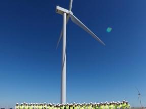Viesgo inaugura un nuevo parque eólico en Cádiz