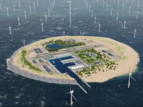 ¿Una isla eólica artificial en el Mar del Norte?