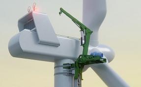 KoalaLifter, el sistema navarro que no necesita grúas para montar parques eólicos, consigue inversión europea