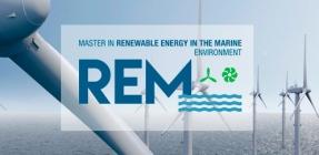 El Máster Erasmus Mundus en Energías Renovables en el Medio Marino cierra el plazo de inscripción el 15 de marzo de 2020