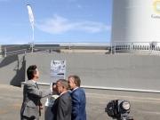 Gamesa inaugura el primer aerogenerador marino de España