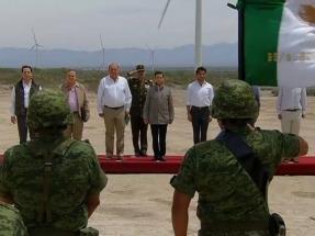Inauguran el parque Eólica de Coahuila, de casi 200 MW de capacidad, el más grande del país