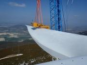 Gamesa instala en Navarra su prototipo terrestre de 5 MW