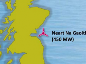 EDF compra a Mainstream Renewable un parque marino de 450 MW en Escocia