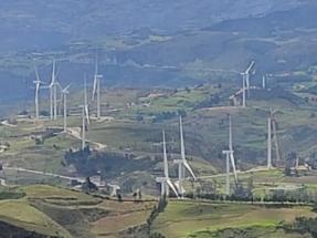 Inician las obras de construcción del parque eólico Las Lomitas, de 260 MW, que será el mayor del país
