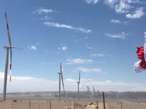 En marcha el parque eólico Wayra I, el más grande del país, de 132 MW